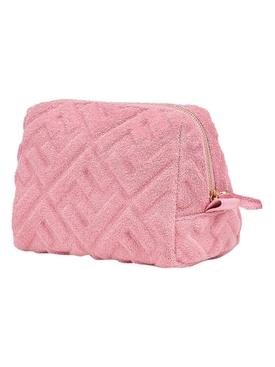 Pink Trapezio Beauty Pouch