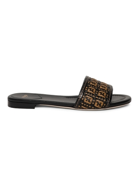 FF Interlace Slides BLACK
