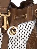 Fendi - Mesh Mini Mon Tresor Bucket Bag White - Women