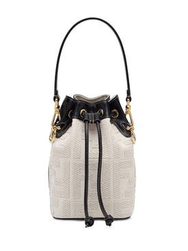 Fendi - Mini Mon Tresor Canvas Bag - Women