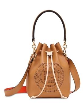 light brown Mon Tresor bucket bag