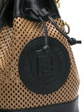 Fendi - Tan Mon Tresor Bucket Bag Black - Women