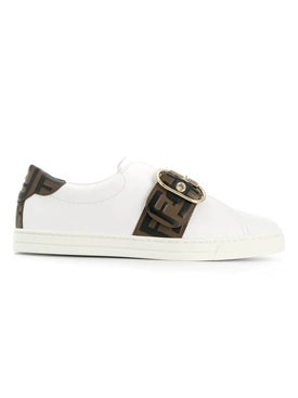 Fendi - Buckle Detail Ff Sneakers - Women