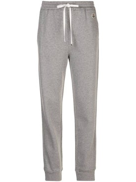 Moncler - Grey Drawstring Track Pants - Women