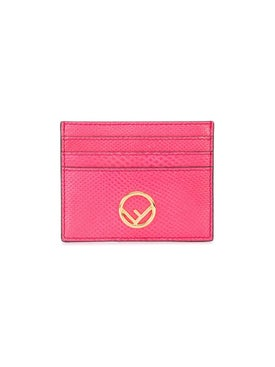 Fendi - Ff Logo Card Holder - Women