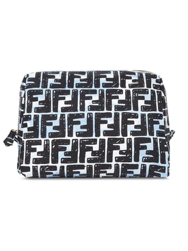 X Joshua Vides FF logo beauty bag