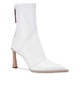 neoprene ankle boots White