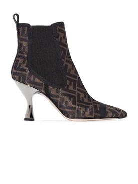 FF Colibri Mesh Ankle Boots