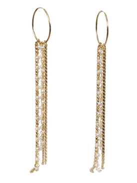 Magda Butrym - Anemone Crystal Cluster Earrings Gold - Women