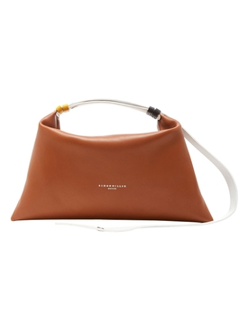 Puffin Leather Handbag TAN