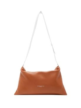 Puffin Leather Handbag TAN
