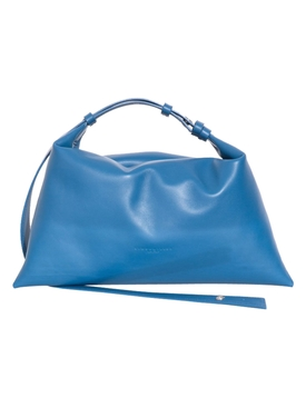 Puffin Leather Handbag SOARING BLUE