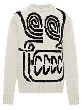 Moncler - 2 Moncler 1952 Rostarr Skull Knit Sweater - Men