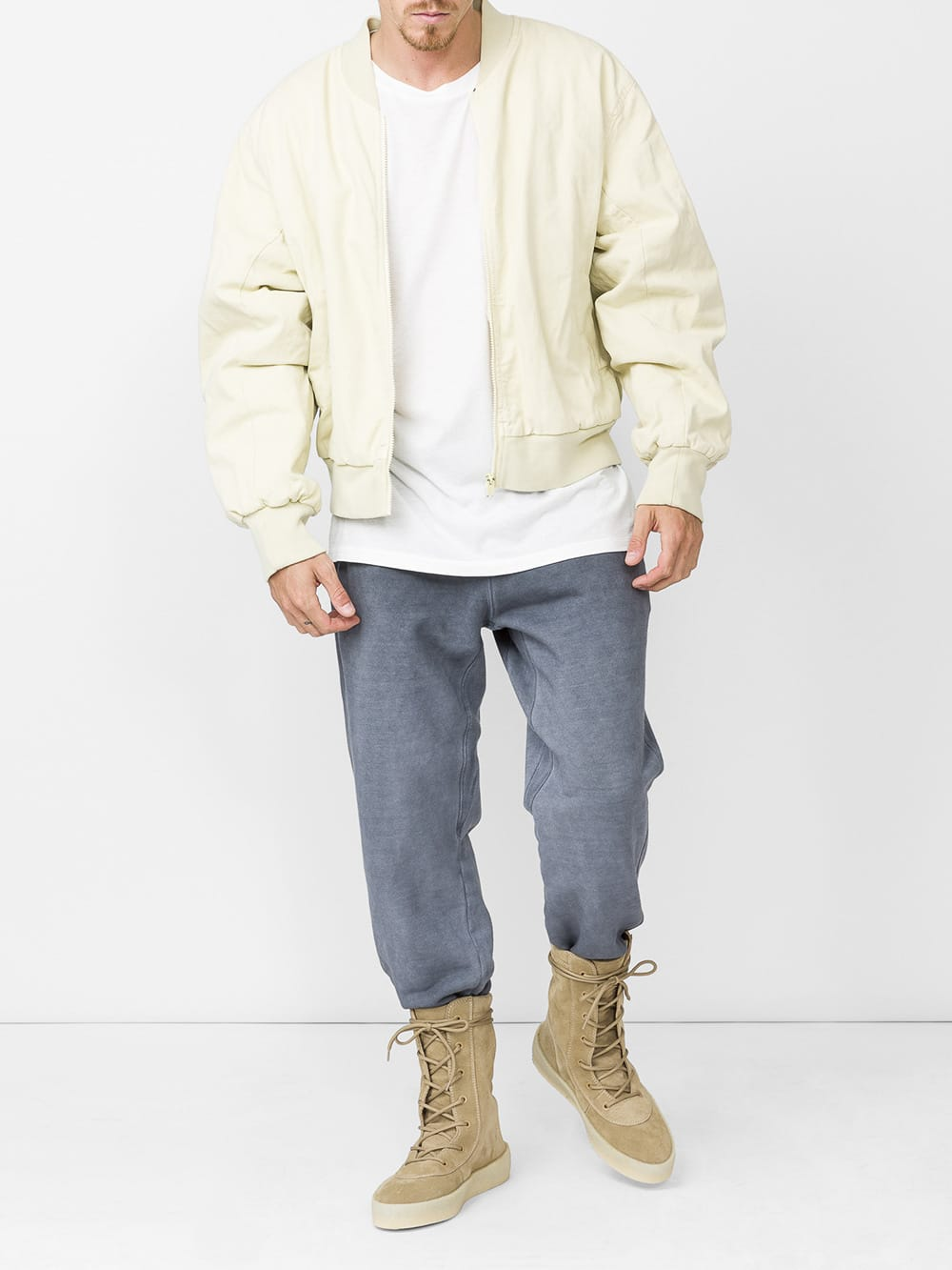 Yeezy Cottons bomber jacket butter