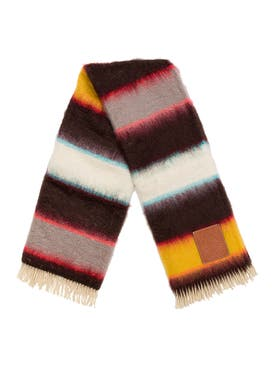 Loewe - Multicolored Mohair Blanket - Home