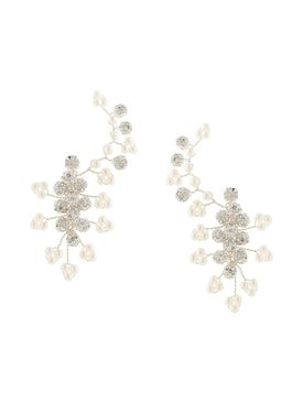Magda Butrym - Silver Anemone Earrings - Women
