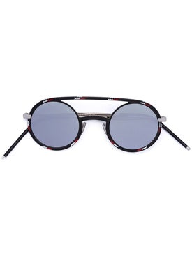 Dior - 'synthesis 01' Rounded Lens Sunglasses - Women