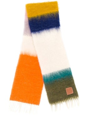 Loewe - Striped Wool Scarf - Women