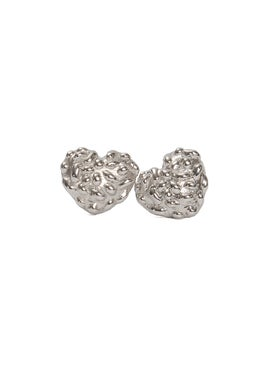 Nadine Ghosn - Onigri Heart Earring - Earrings