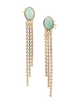 Magda Butrym - Kiwi Drop Earrings - Earrings