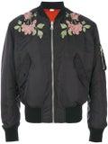 Gucci - Reversible Nylon And Silk Bomber Jacket - Men