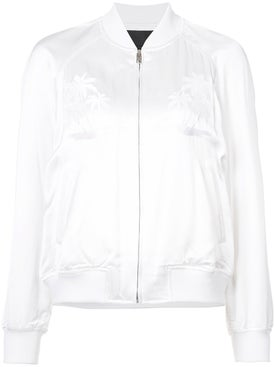 Alexanderwang - Palm Tree Embroidered Bomber Jacket - Women
