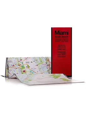 Red Maps - Miami South Beach Map - Women