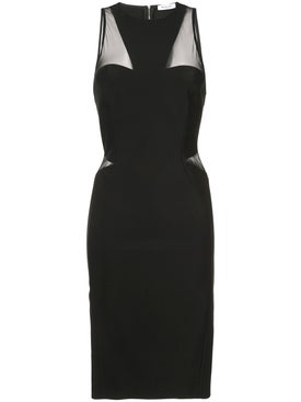 Mugler - Fitted Sleeveless Dress - Women
