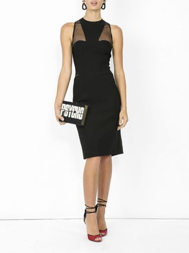 Mugler - Fitted Sleeveless Dress - Women