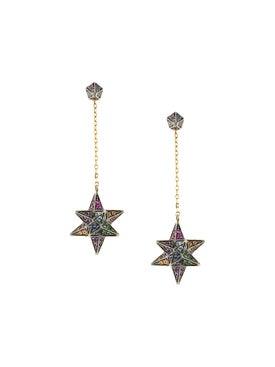 Noor Fares - Merkaba & Cone Dress Earring - Women