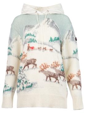 Knit Pastel Color Hoodie