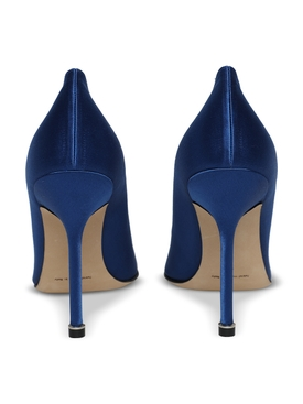 Hangisi silk pumps, blue