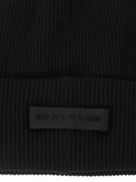 6 MONCLER 1017 ALYX 9SM beanie black