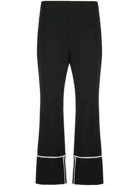 Ellery - Cropped Black Pants - Women