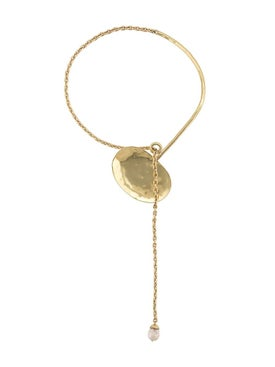 Ellery - 18kt Gold Plated Baldwin Disk Necklace - Women