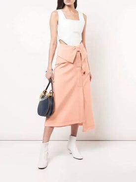Ellery - Foldover Waist Skirt - Women