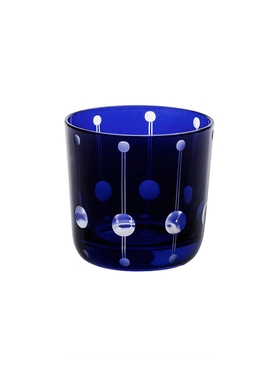 Blue Brusel shot glass