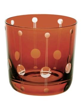 1921 Brusel Shot Glass, Dark Honey