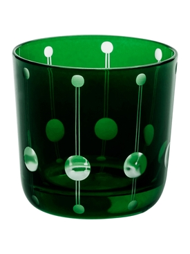 1921 Brusel Shot Glass, Green