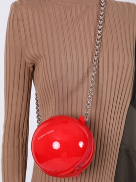 Red Ball Cross-body Handbag