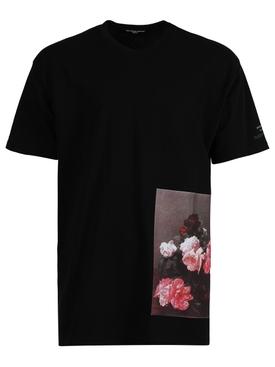 Archive Redux Flower Print T-Shirt