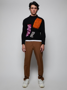 Archive Redux Cropped Sweater