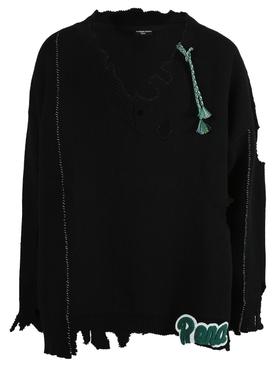 Archive Redux Oversize V-Neck Sweater