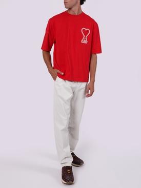 Oversize Ami De Coeur T-shirt RED