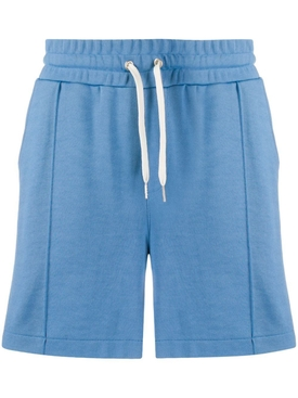 Technical track shorts BLUE