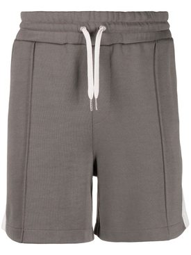 Technical track shorts DARK GREY