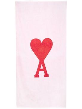 Ami de Coeur Beach Towel White