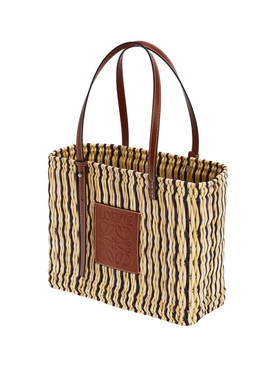 X PAULA'S IBIZA SQUARE BASKET BAG