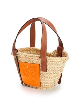 Paula's Ibiza Small Palm Leaf Basket Bag