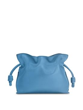 FLAMENCO CLUTCH BAG LAGOON BLUE